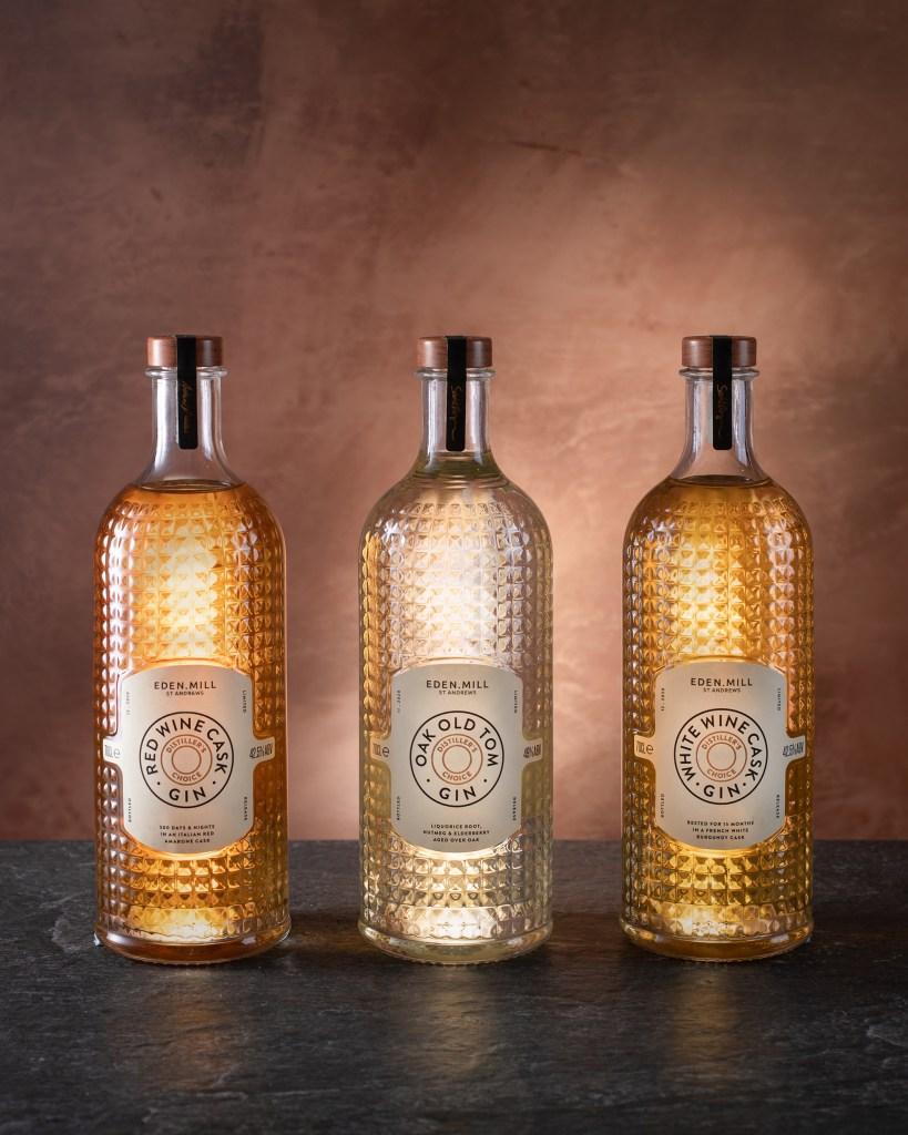 The Eden Mill Distiller's Choice Collection gins