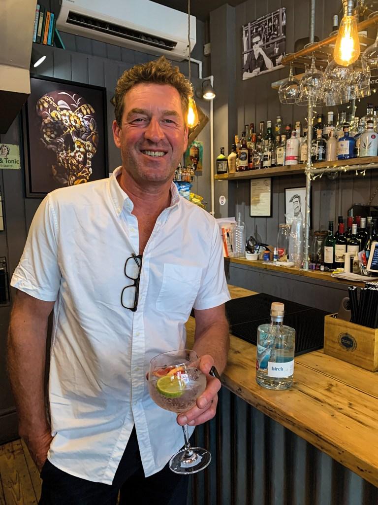 Justin Birch, founder of Birch Gin