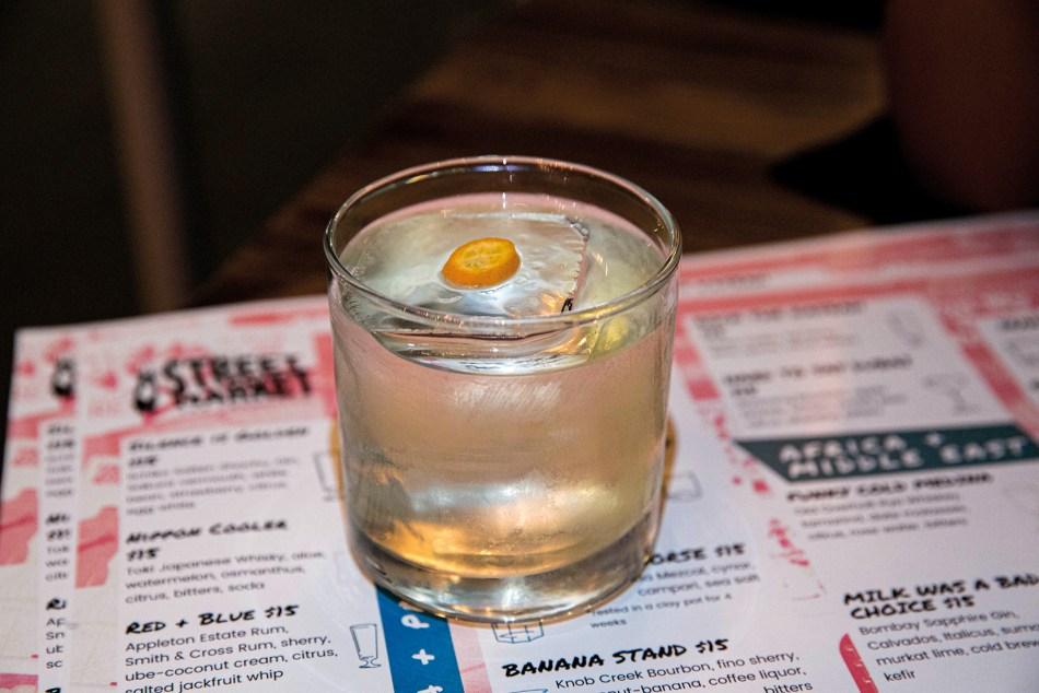 Cocktail at Kona's Street Market, San Francisco, CA. Credit: Virginia Miller