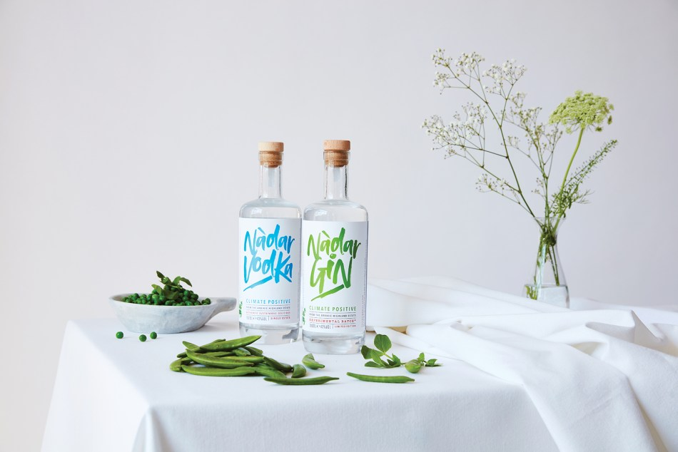 Nàdar Gin and Vodka from the Arbikie Estate