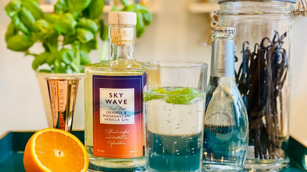 Sky Wave Orange and Madagascan Vanilla Gin