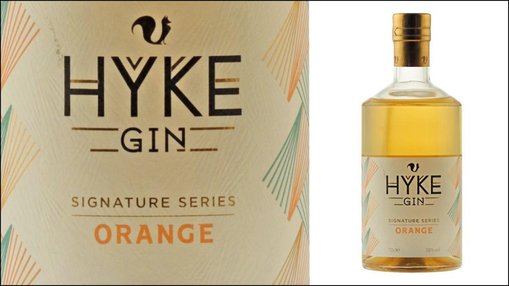 Hyke Gin Signature Series Orange