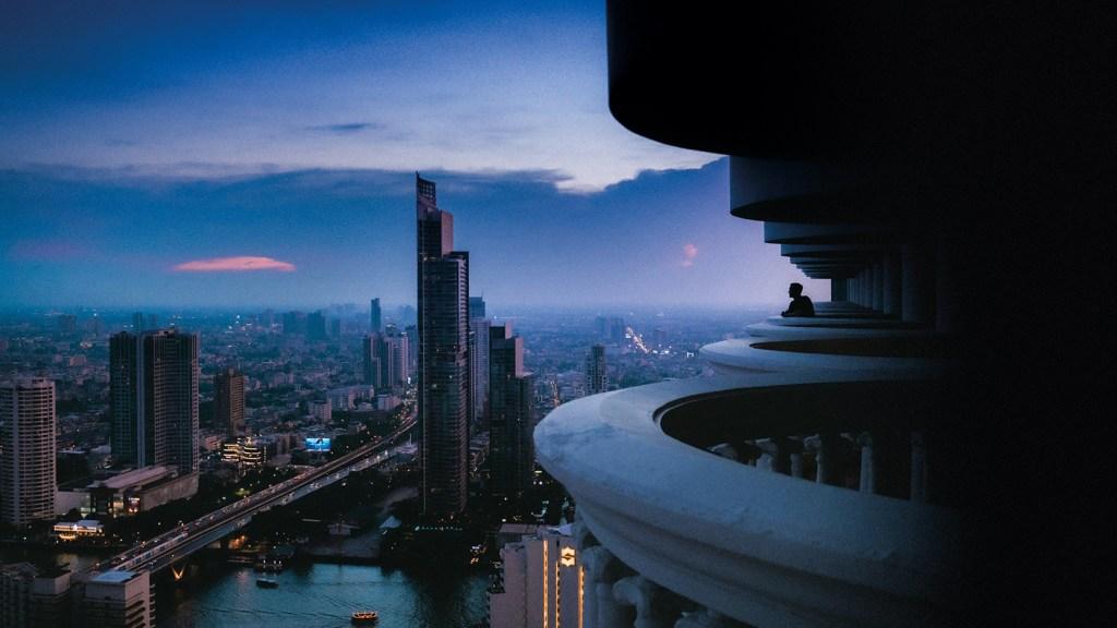Asian cityscape