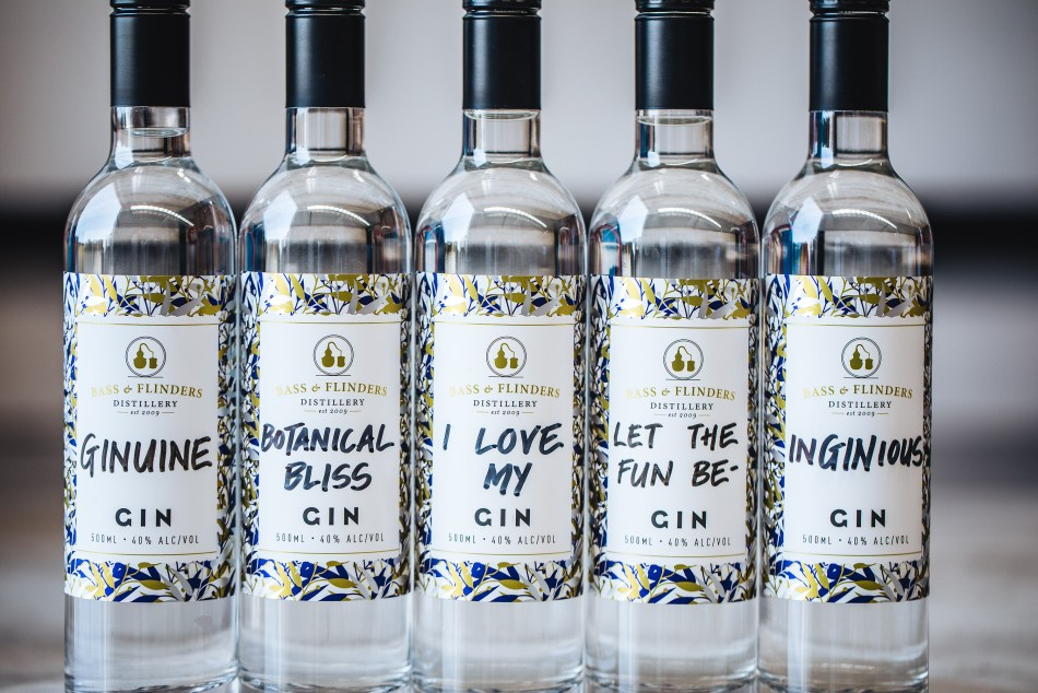A passion for gin at Bass & Flinder