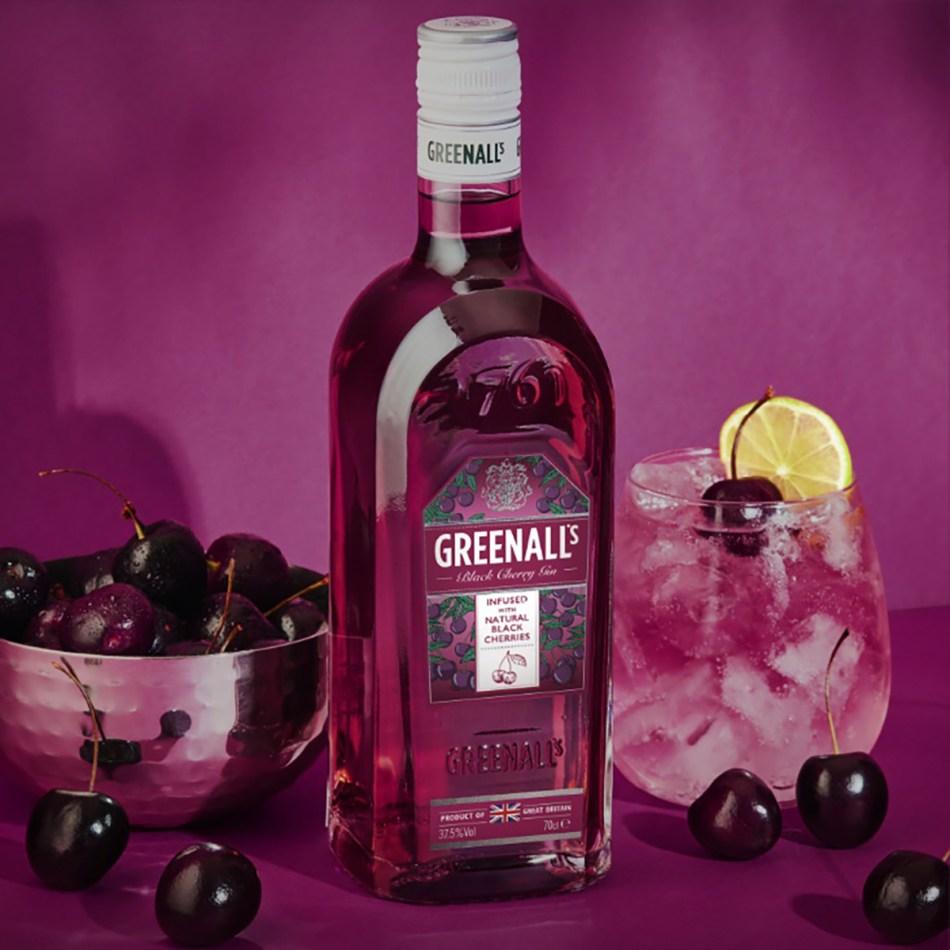 Greenall's Black Cherry Gin