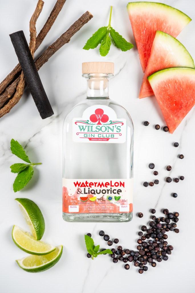 Wilson's Gin Club Watermelon and Liquorice Gin