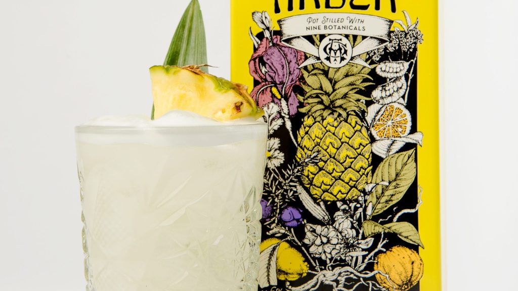 Agnes Arber Pineapple Gin Sour