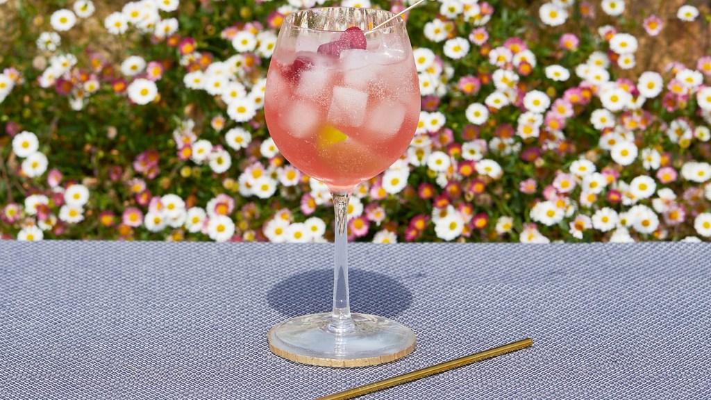Sing Gin Floradora cocktail