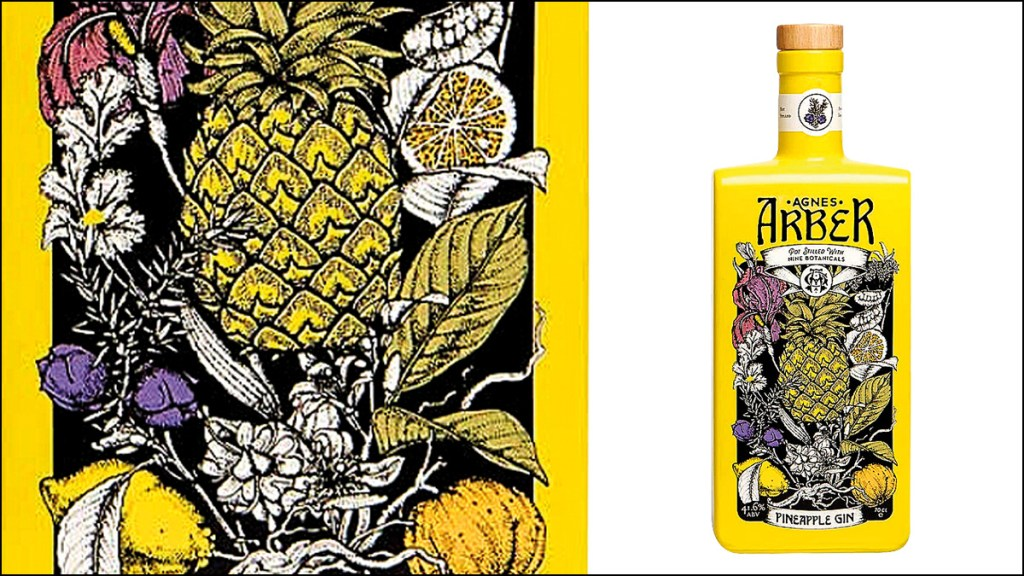 Agnes Arber Pineapple Gin