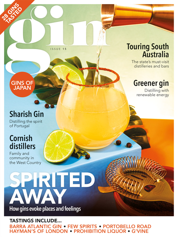 Gin Magazine issue 15 cover