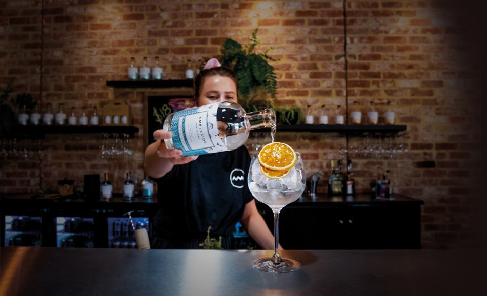 Ambleside Distillers' Botanical No. 8 gin