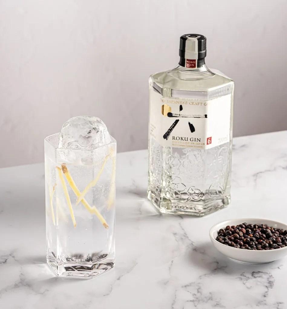 Roku Gin and Tonic