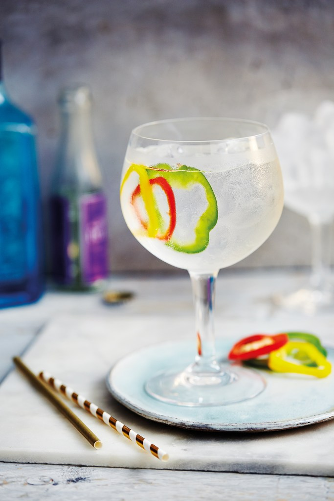The Olympian cocktail from Gin Tonica