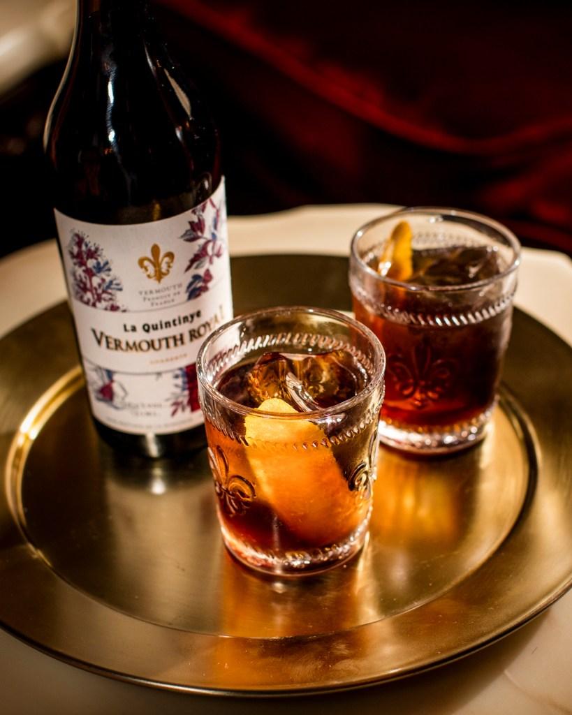 Maison Villevert's Royal Negroni cocktail