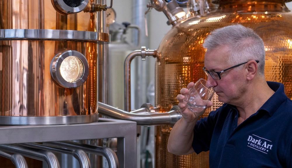 Andrew Clark-Hutchison of The Dark Art Distillery