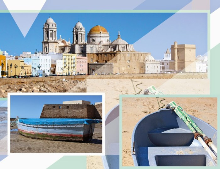Cadiz Spain Mood Board