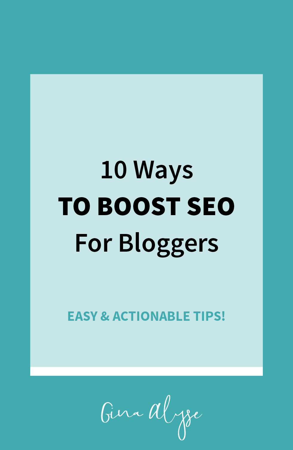 How to Boost SEO for Bloggers & Increase Your Traffic