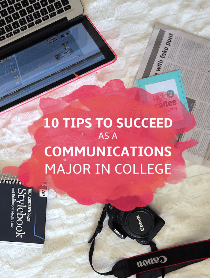 How to Succeed as a Communications Major