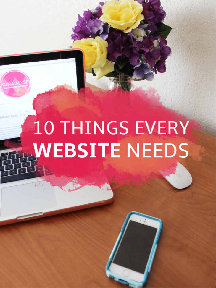 10 Things Every Website Needs