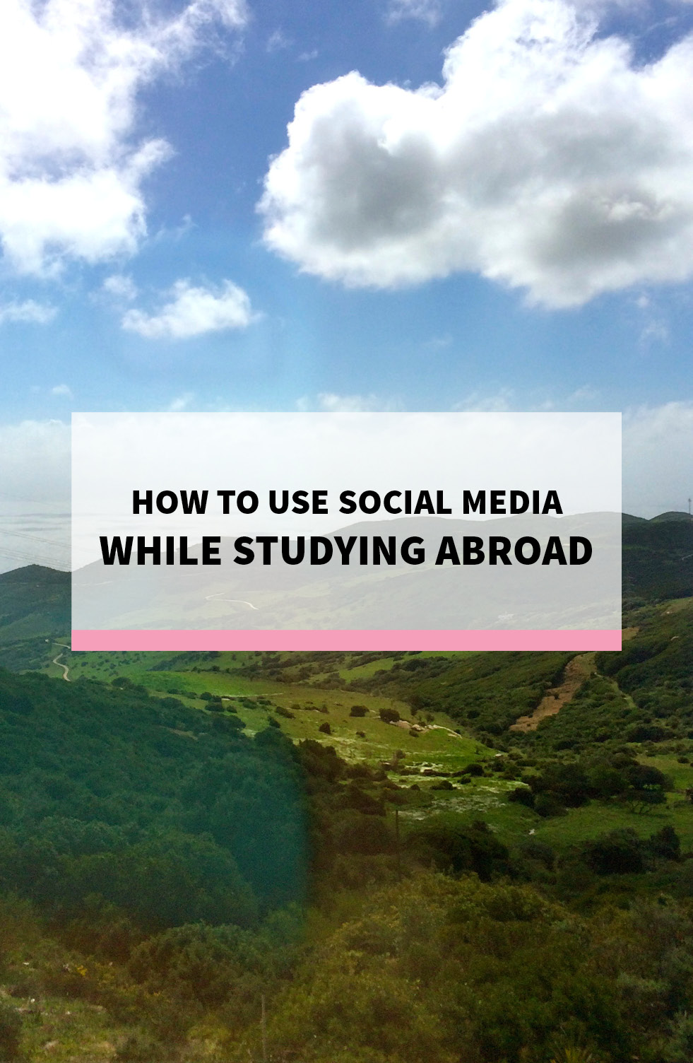 How to Use Social Media When Studying Abroad