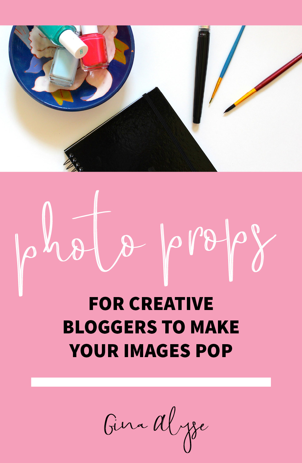 Photo Props for Creative Bloggers