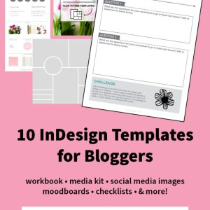8 Ways InDesign Can Enhance Your Blog (Free Template Bundle!)