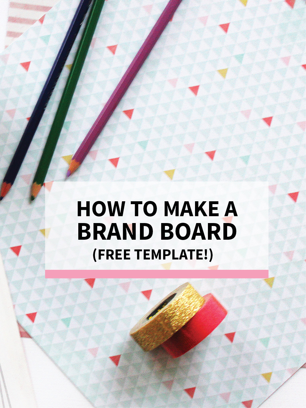 what is a brand board why you need one for your biz