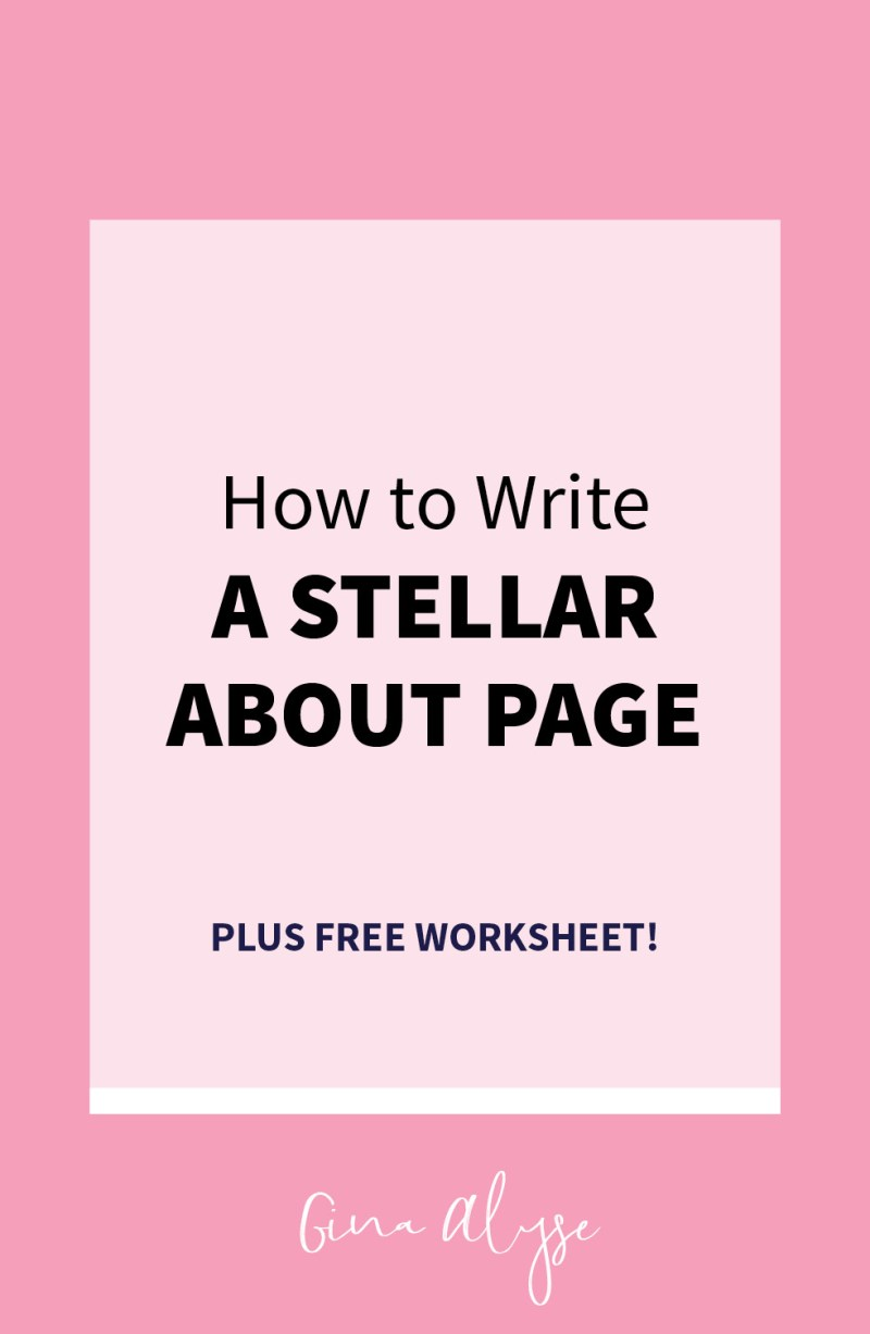 How to Write a Stellar About Page for Bloggers