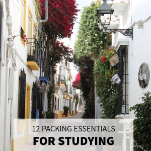 Packing Essentials: Studying Abroad in Europe
