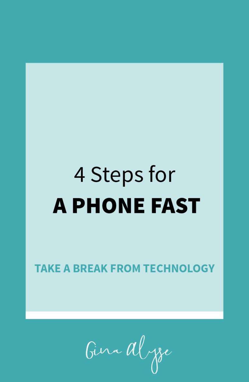 How to do a Phone Fast