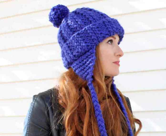 2385c4c36 Ear Flap Hat [knitting pattern] - Gina Michele