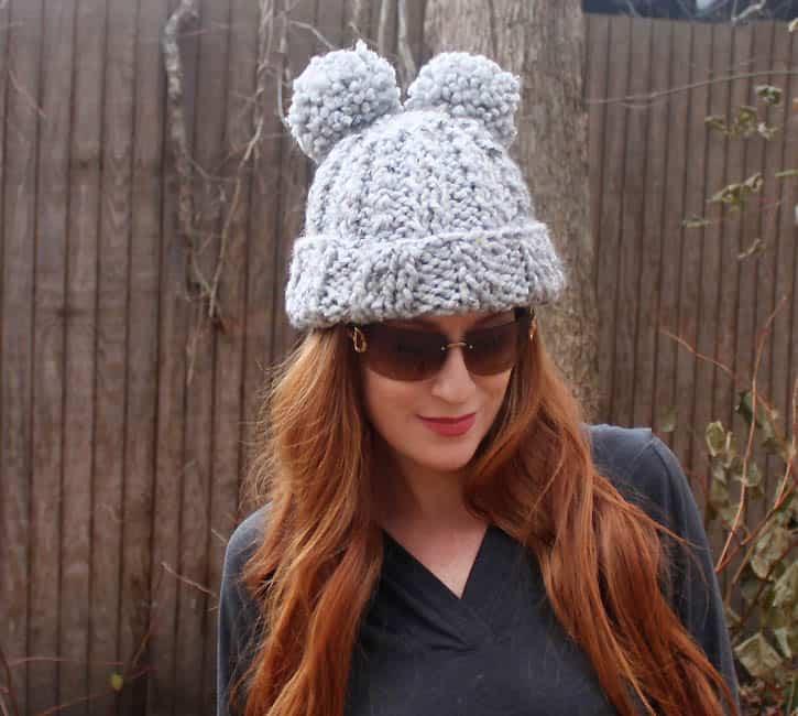 Eugenia Kim Mimi Pom Pom Hat Knitting Pattern Gina Michele