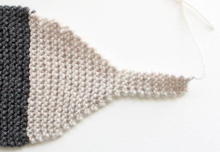 Free Fox Scarf Knitting Pattern by Gina Michele