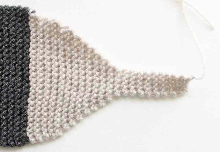 Free Fox Scarf Knitting Pattern by Gina Michele