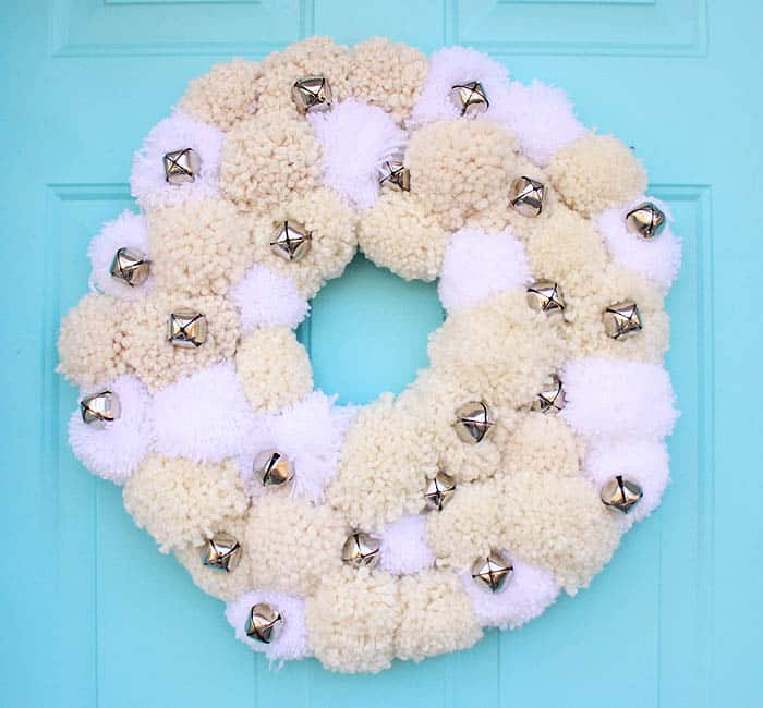 DIY Silver Bells Wreath- Inspired by Pottery Barn