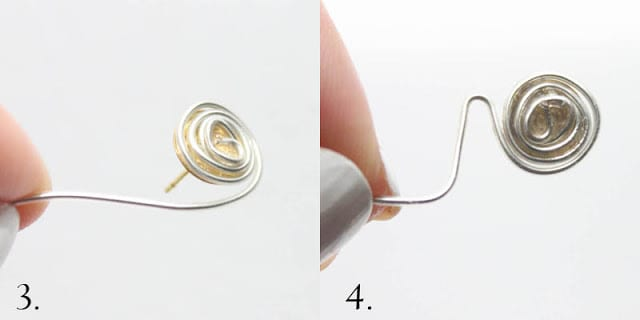 DIY Ear Sweep Earring by Gina Michele