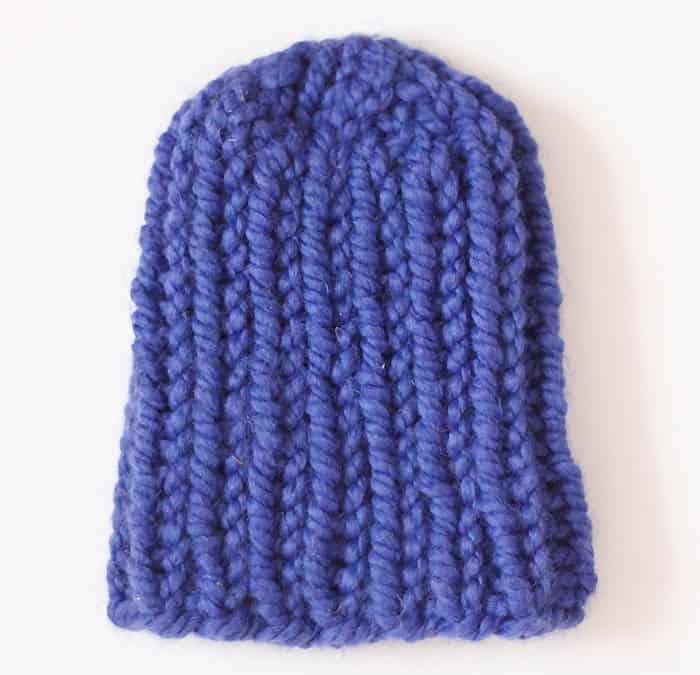 Easy Baby Beanie Knitting Pattern