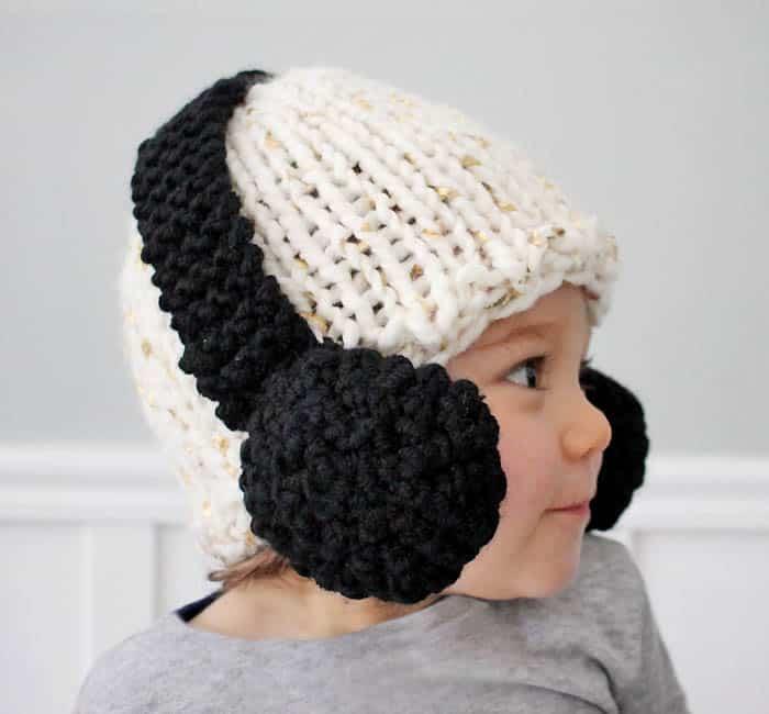Baby Headphone Hat [knitting pattern]