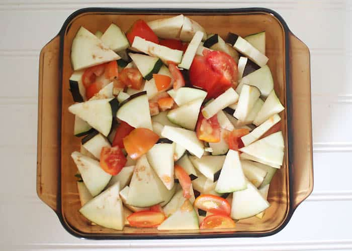 Easy Zucchini, Eggplant & Tomato Bake recipe