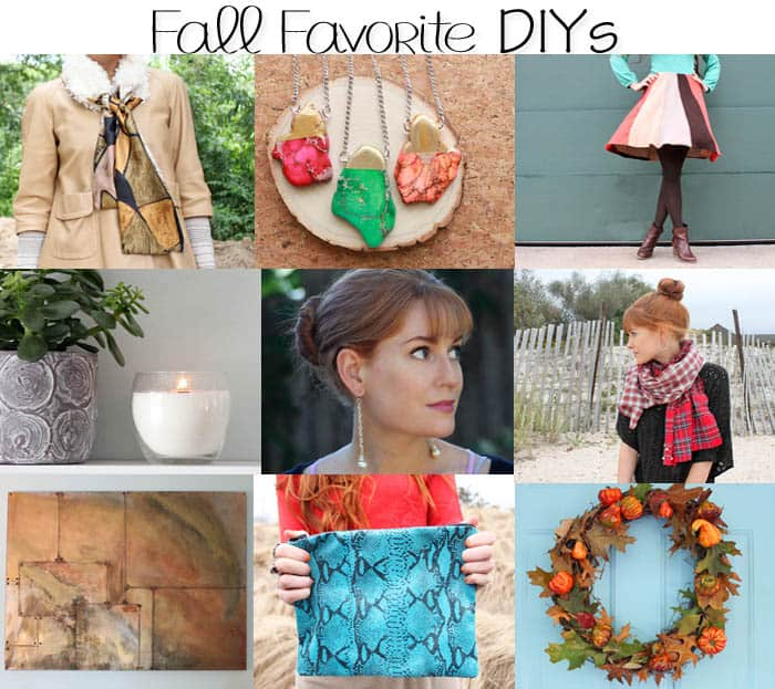 Fall Favorite Home Decor and Fashion DIYs