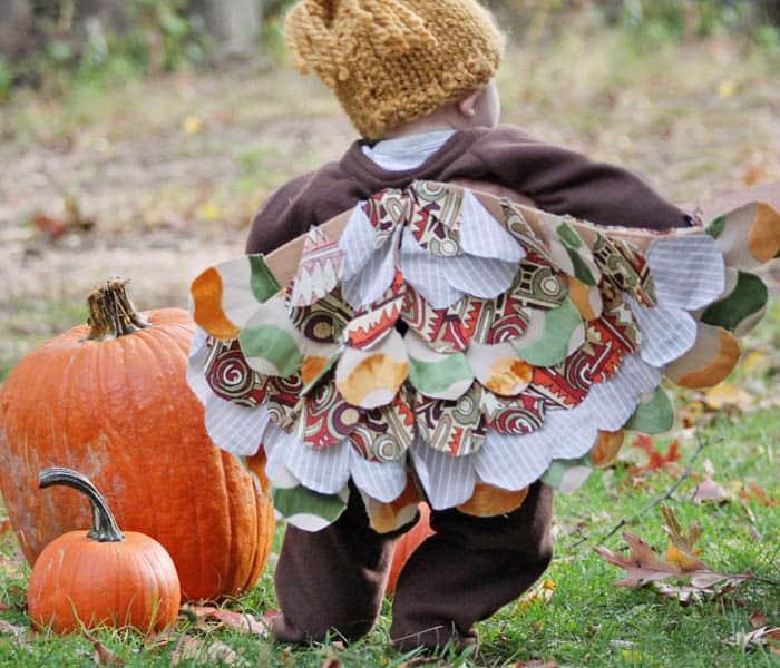 DIY Baby Owl Halloween Costume