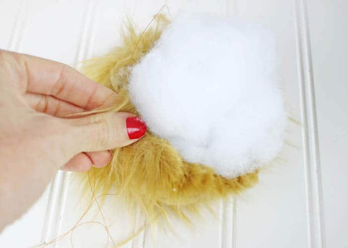 How to Make Faux Fur Pom Poms