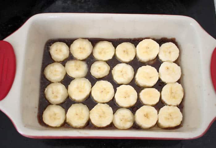 Upside Down Banana Bread recipe