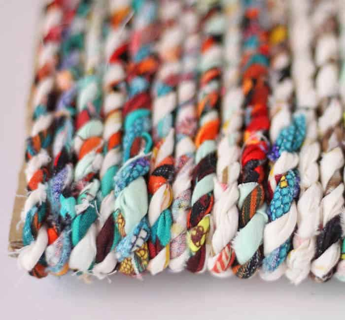 How to Make Twine from Fabric Scraps