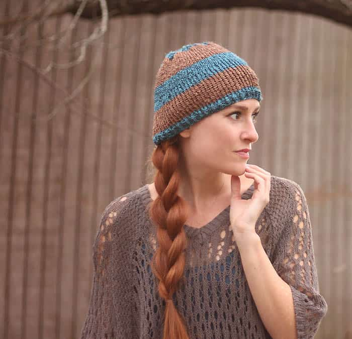 Gucci Metallic Beanie Free Knitting Pattern