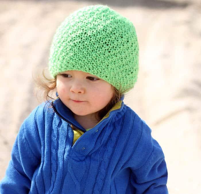 Irish Moss Hat Knitting Pattern Gina Michele