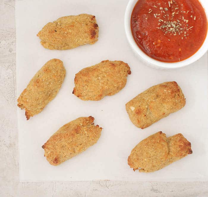 Recipe Healthy Cauli-Tots by Gina Michele