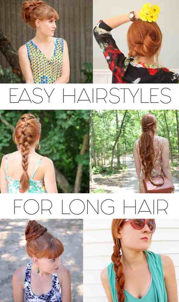Easy Hairstyles for Long Hair by Gina Michele
