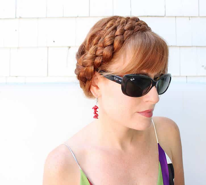 Coachella Braided Hairstyles by Gina Michele