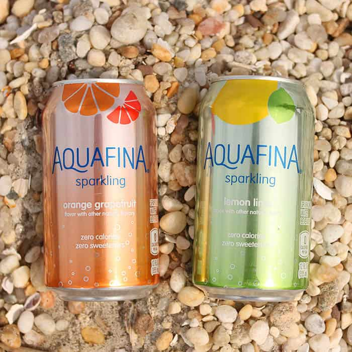Beach Break with Aquafina Sparkling